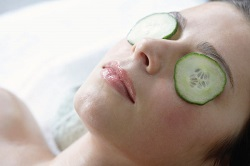 Cucumber Slices For Puffy Eyes