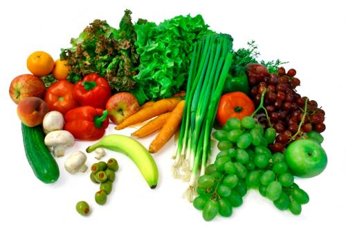 Natural foods with antioxidants