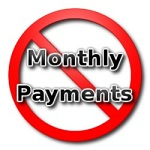 No Monthly Payments